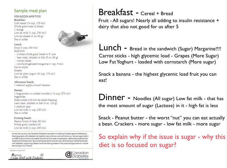 Type 2 diabetes care plan sample.