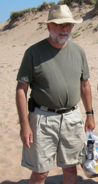 Rob at beach 09
