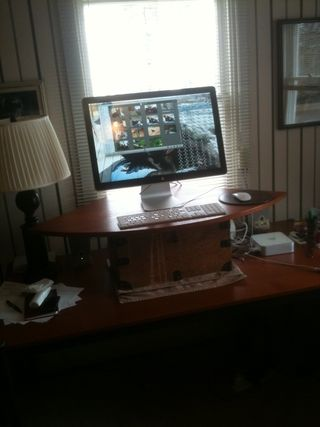 Robs' standing desk
