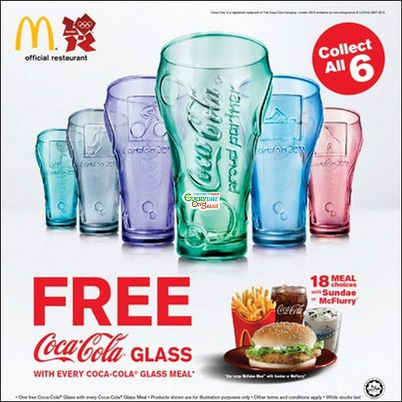 Mcdonalds-free-coca-cola-glass-olympics-2012-shopping-branded-everyday-on-sales