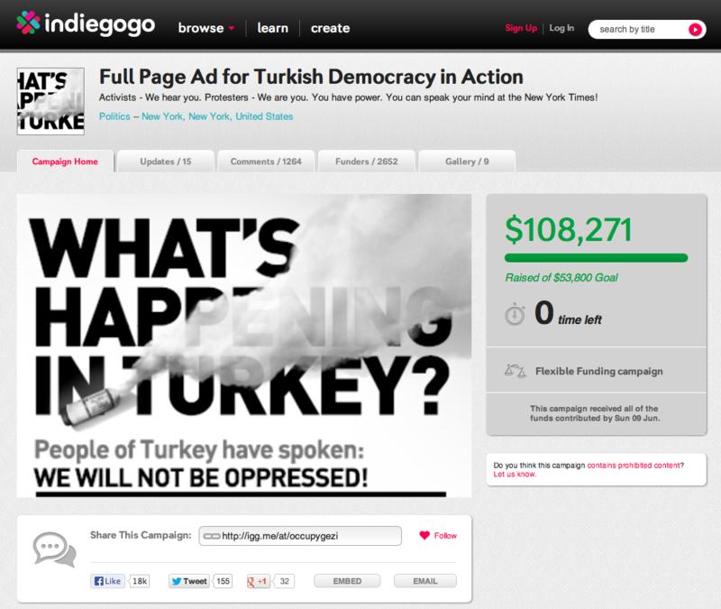 Indieggog turkey
