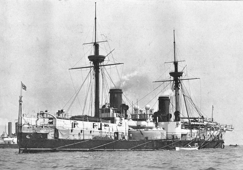 HMS_Inflexible_(1881)