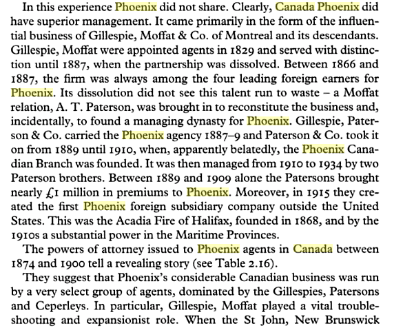 Phoenix & Patersons History