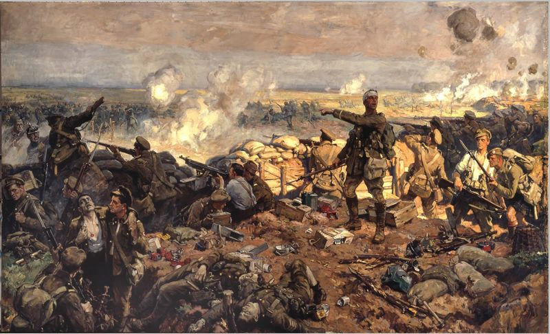 Richard-jack-the-second-battle-of-ypres-22-april-to-25-may-1915