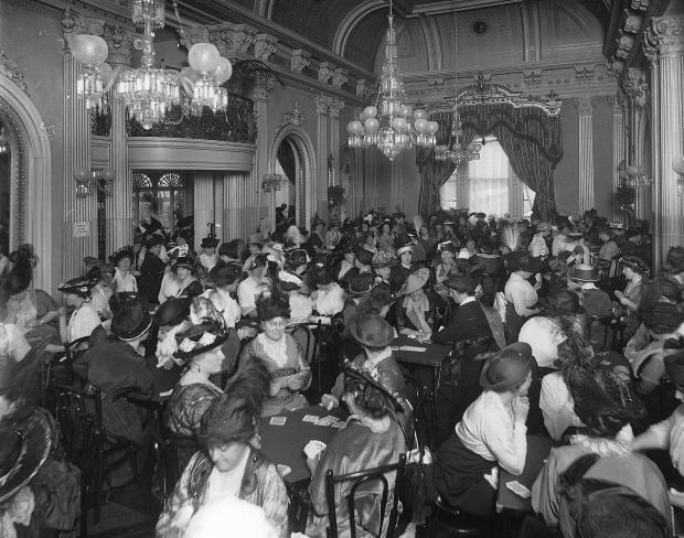 1914 Charity Card Game Ravenscrag