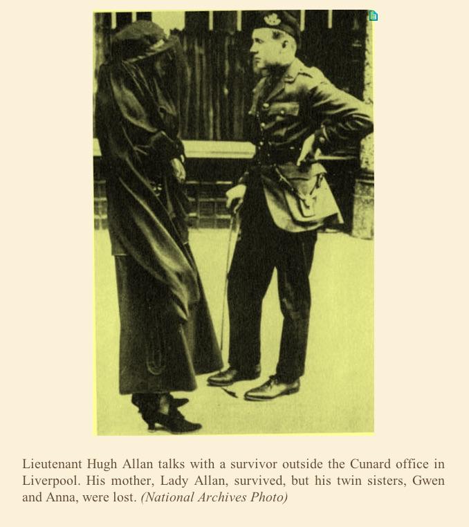 Hugh Allan Lusitania
