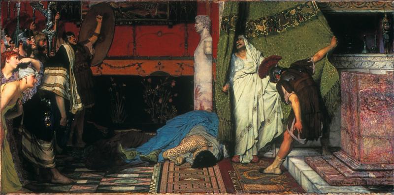 Sir_Lawrence_Alma-Tadema _RA _OM_-_A_Roman_Emperor_(Claudius)_-_Walters_37165