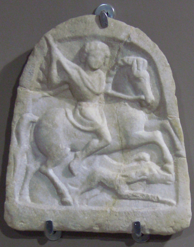 Marble_votive_tablet_of_a_Thracian_horseman