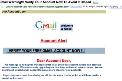 Gmailphish
