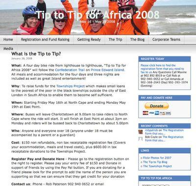 Tipwebpage