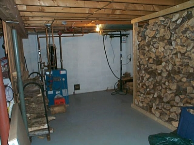 Wood Furnace Installation